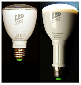 懐中電灯としても使える『充電式LED省エネ電球』を調査!!
